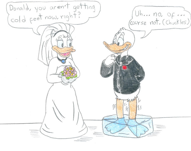 Donald and daisy duck married - photo#4