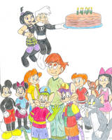 Animationamongus - Birthday by Jose-Ramiro