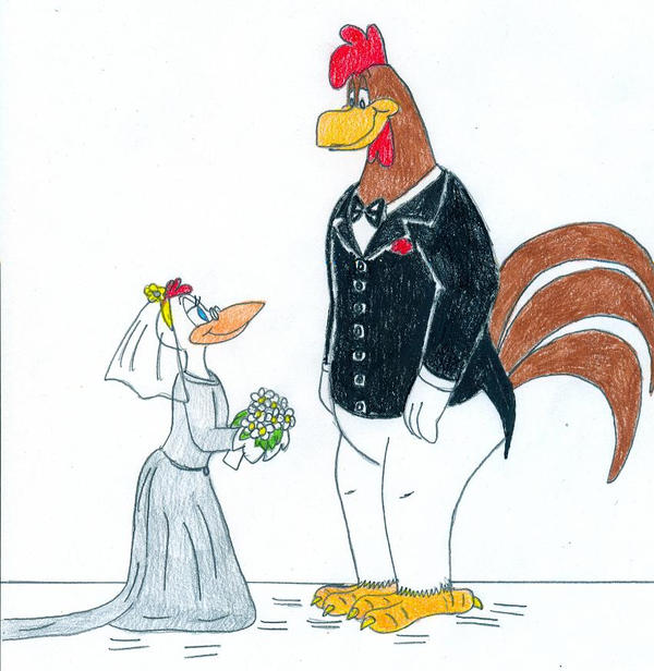 Marrying Chickens by Jose-Ramiro
