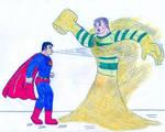 Superman vs Sandman