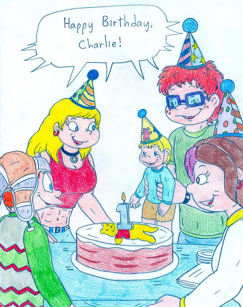 Charlie's Birthday by Jose-Ramiro