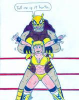 Wrestling Pantha by Jose-Ramiro