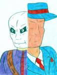 Chameleon versus Question by Jose-Ramiro