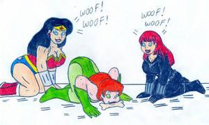 Triple Canine Hypnosis