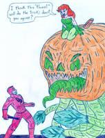 Poison Ivy vs Daredevil by Jose-Ramiro