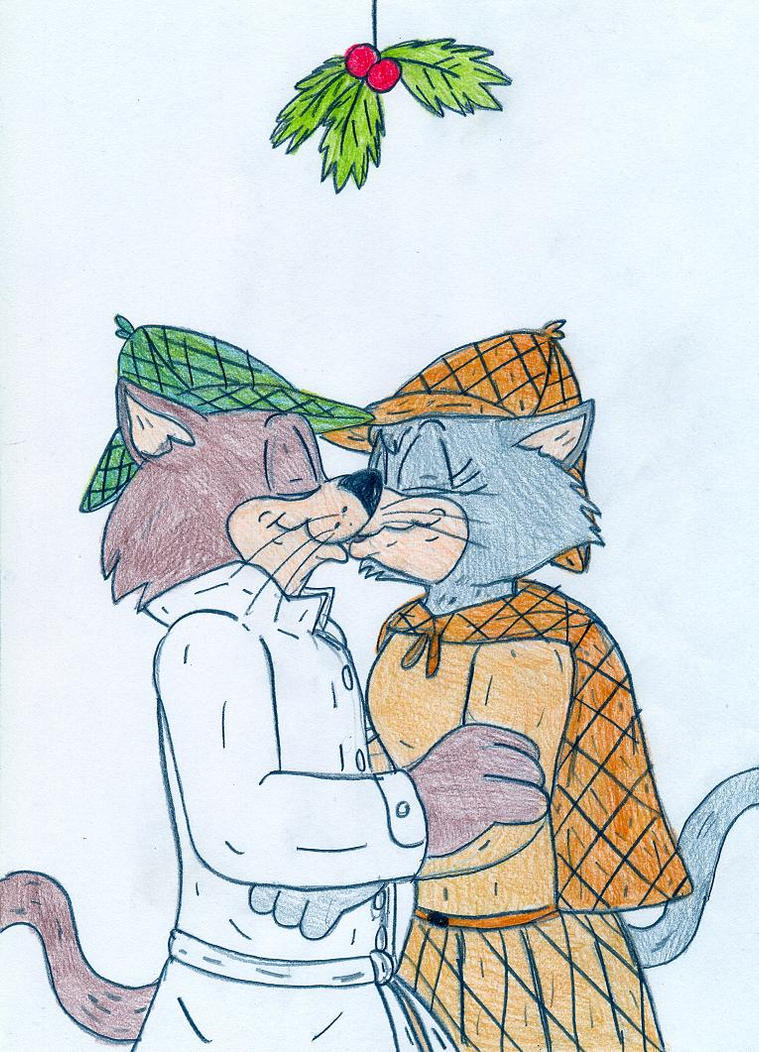 Mistletoe Snooper and Jenny by Jose-Ramiro