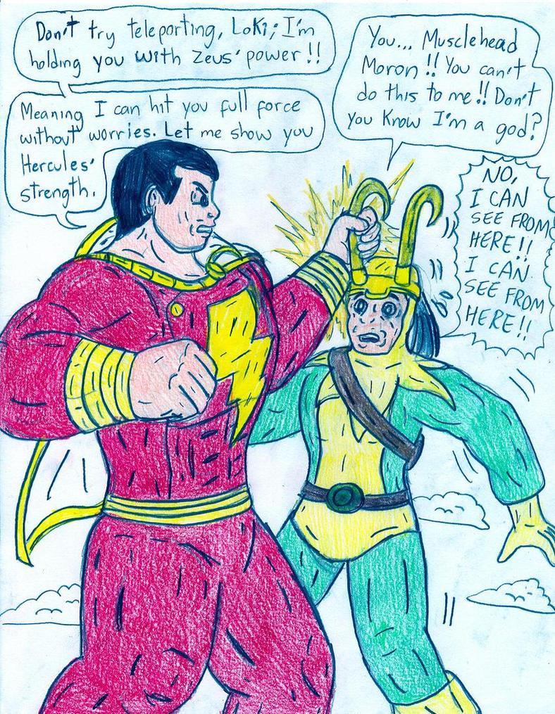 captain marvel vs zod