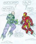 Lex Luthor vs Iron Man