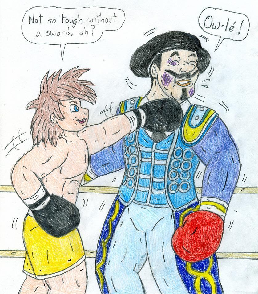 Boxing Sora Vs El Matador By Jose-Ramiro On DeviantArt