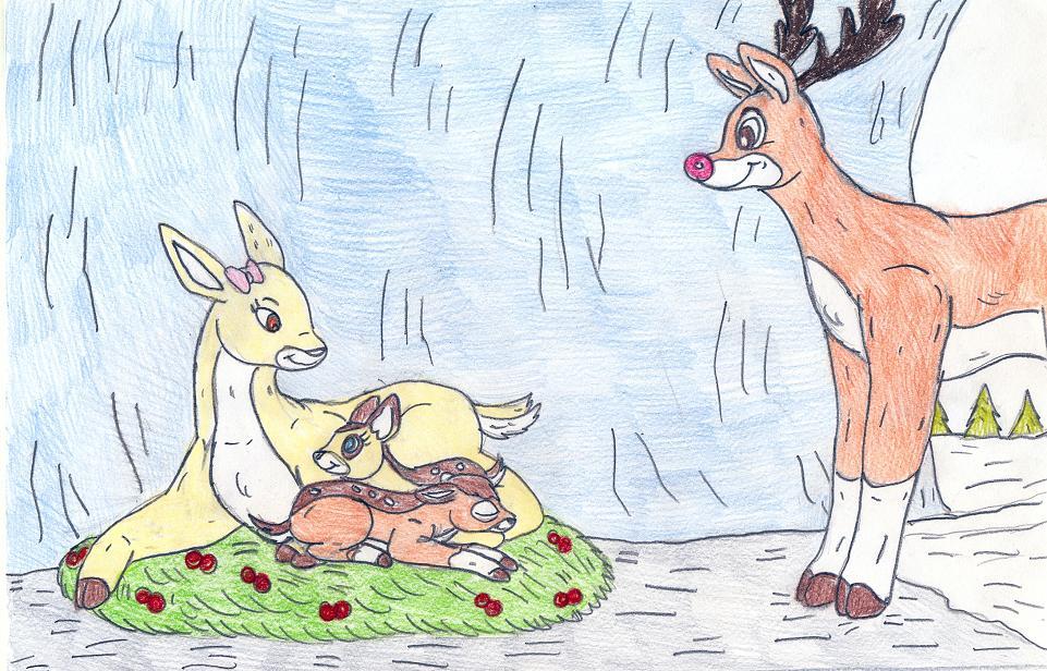 Rudolph's family by Jose-Ramiro