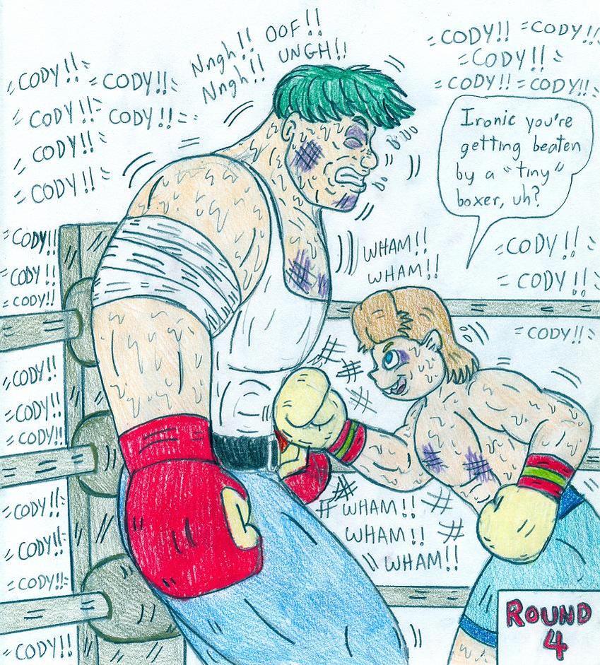 Boxing Cody Vs Tiny By Jose-Ramiro On DeviantArt