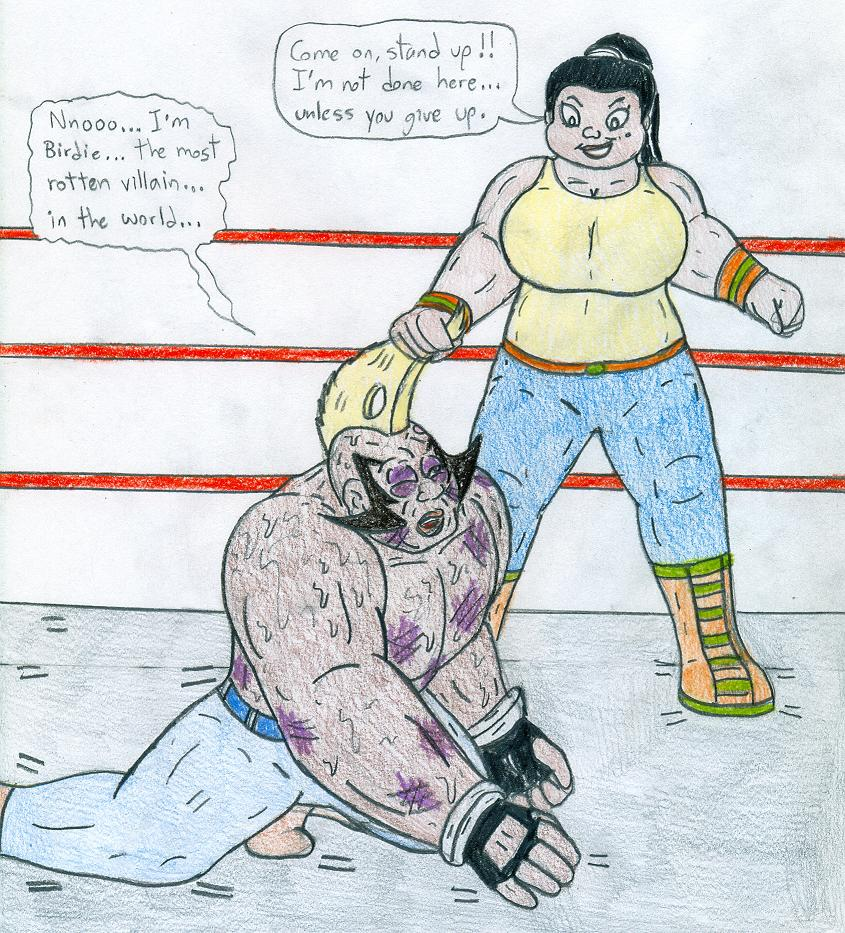 Wrestling Leshawna Vs Birdie By Jose-Ramiro On DeviantART