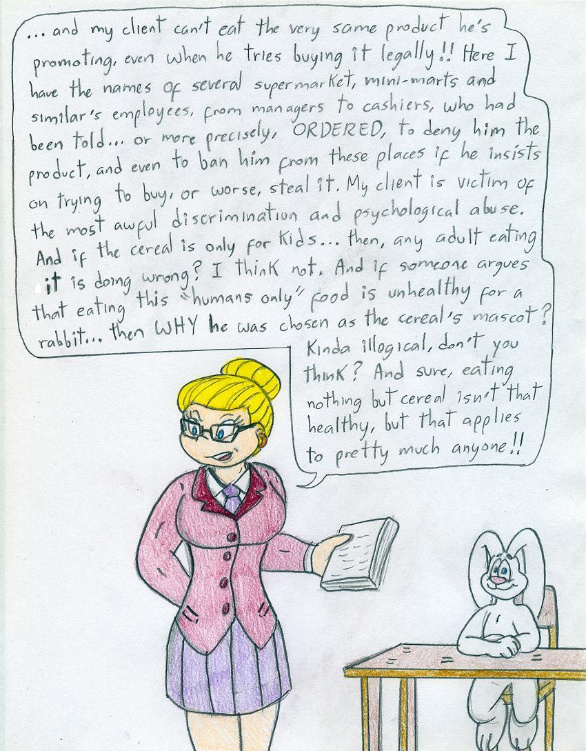 Attorney Angelica - Trix Rabbit by Jose-Ramiro