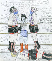Boxing - Marceline vs Male Vampires