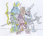 Toon Ronin Warriors