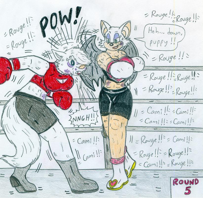 Boxing Rouge Vs Cami By Jose-Ramiro On DeviantArt