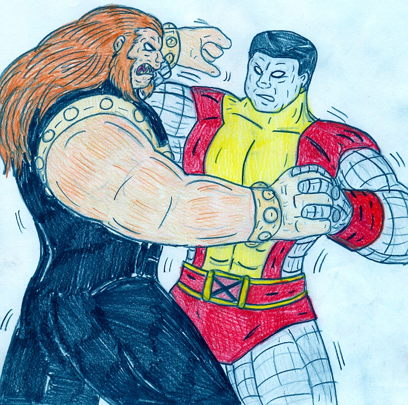 Colossus vs Mammoth by Jose-Ramiro