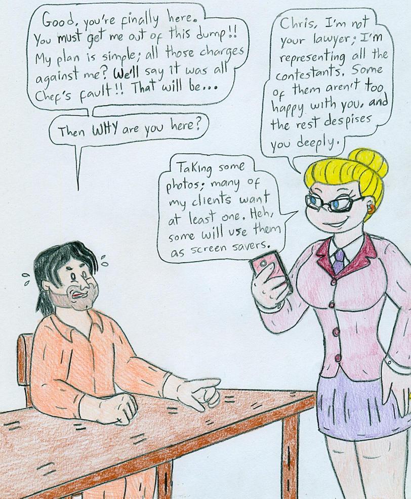 Attorney Angelica and Chris McLain by Jose-Ramiro