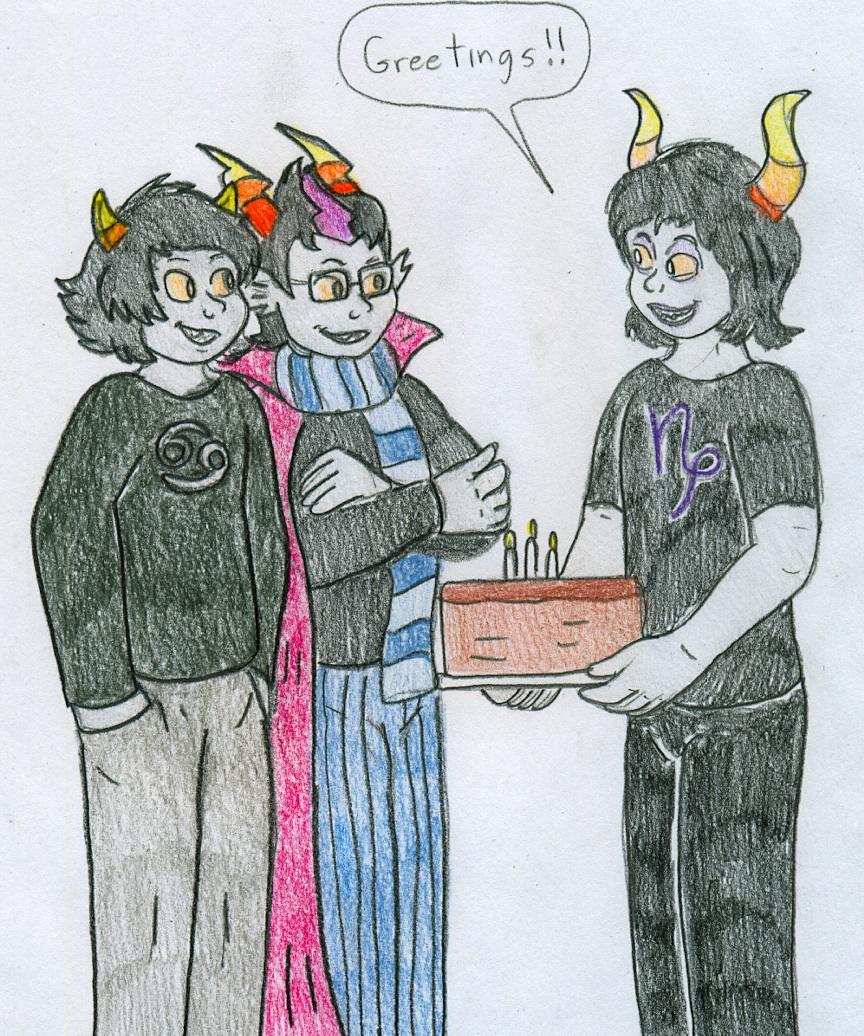 Trolls Birthday Cake Buttercream