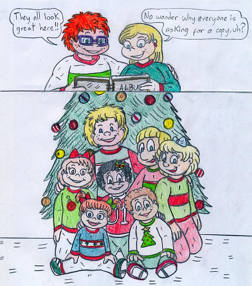 Angelica\'s Album - Christmas Kids by Jose-Ramiro on DeviantArt
