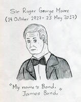 Tribute - Roger Moore by Jose-Ramiro