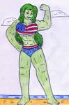 July 4th - She Hulk