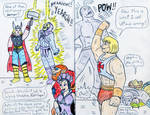 Hero Exchange - Thor and He-Man