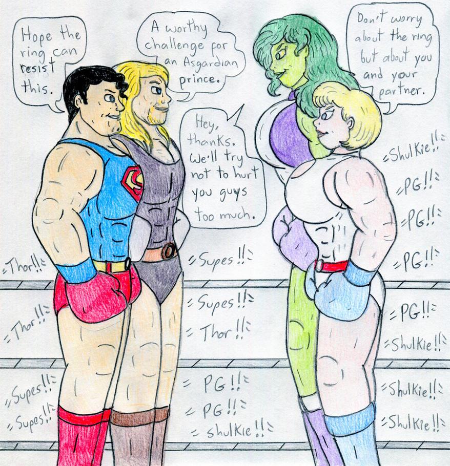 Power Tag-Team By Jose-Ramiro On DeviantArt