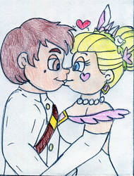 Disney Wedding - Star and Marco by Jose-Ramiro