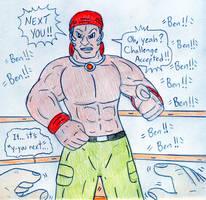 Wrestling You vs Ben Smith - Violence Fight by Jose-Ramiro