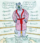 Wrestling You vs Bernard by Jose-Ramiro