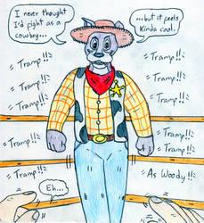 Wrestling You vs Anthro Tramp