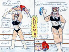 Wrestling Pumyra vs Lion-O