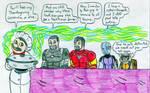 Thanksgiving Avengers by Jose-Ramiro