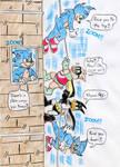 Batduck, Decoy and Sonic