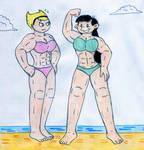 Muscle Mandy and Kuki