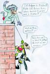 Batduck, Decoy and I.R. Riddler by Jose-Ramiro