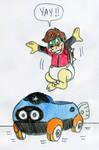 Baby Scott Koopa Karting by Jose-Ramiro