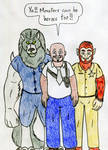 Werewolf Officers by Jose-Ramiro