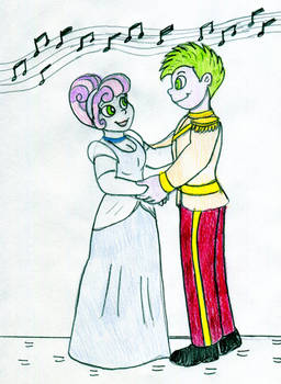 Sweetiedella and Prince Spike
