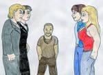 Vampire Diaries Battle by Jose-Ramiro