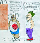 Gym Couple - Suga Mama and Papi by Jose-Ramiro