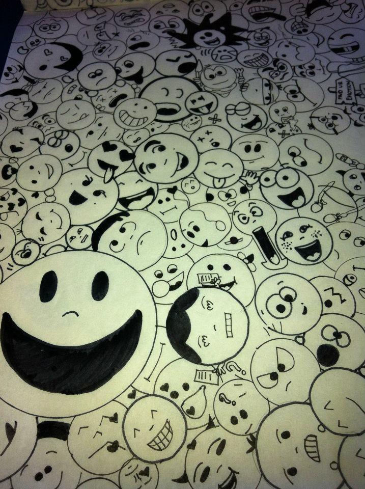 doodle art by marzbluerose