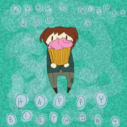 BeyArMaMo Day 17 - Wyatt and Cupcake