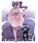 Blind Lace OC - Kyrasi