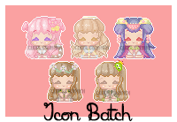 Icon Com Batch 1 by CuddlyBunneh