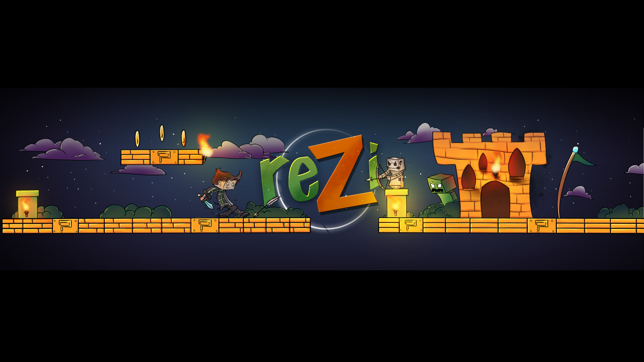 Youtube Banner. By IEatlAllCrayons On DeviantArt