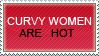 Curvy women stamp by Myscal