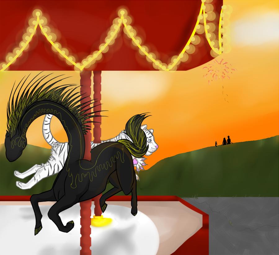 Carousel  Draquus by Myscal