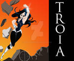 Donna Troy as TROIA